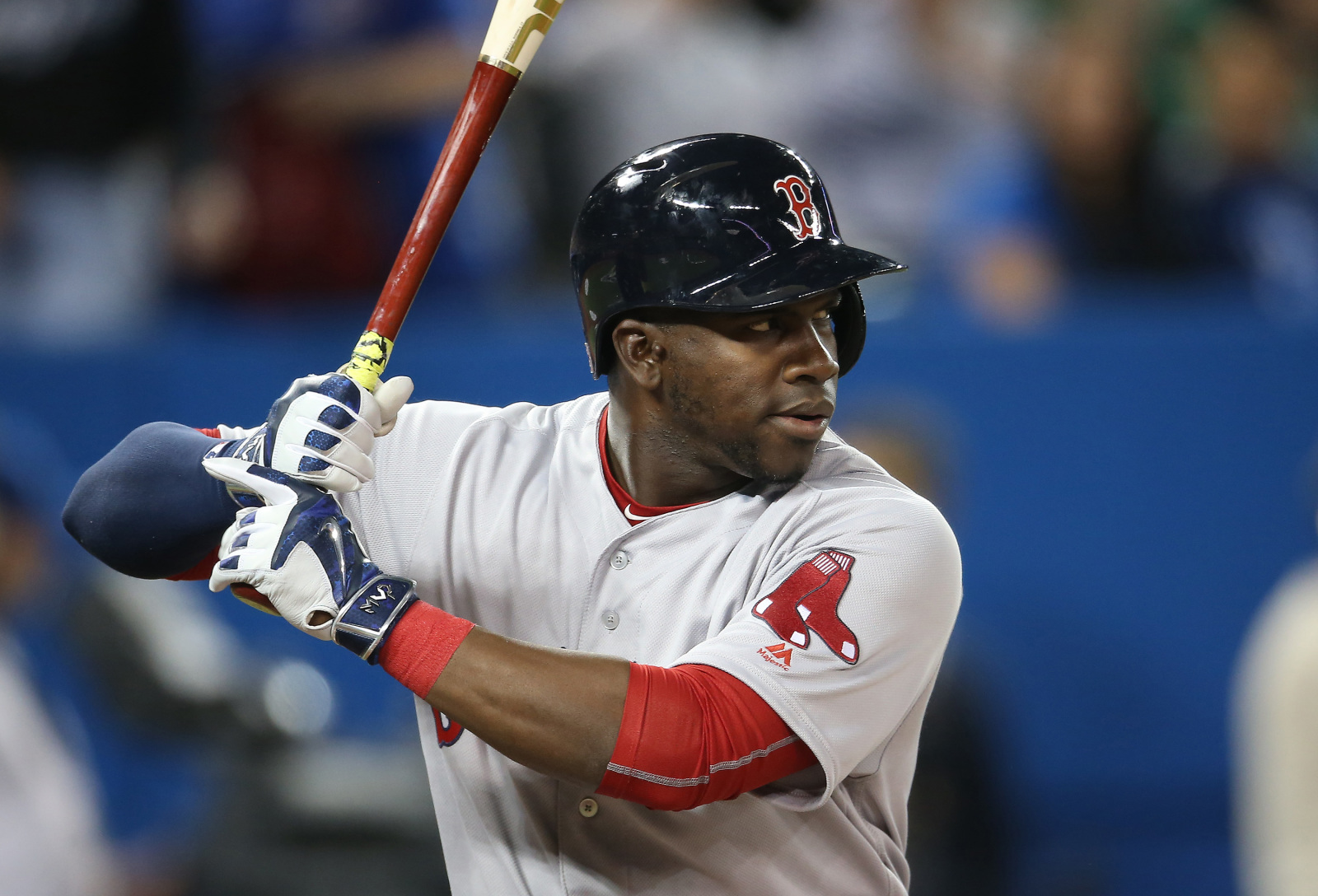 Boston Red Sox outfielder Rusney Castillo preparing for his contract year